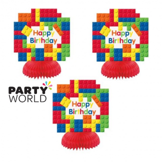 Lego Block Party Mini Honeycomb Decorations (3)