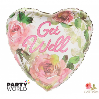 Get Well Soon Coventry Garden Foil Balloon
