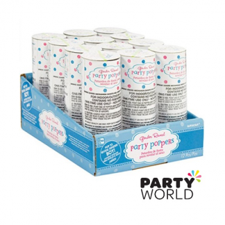 Girl Or Boy? Confetti Poppers - Boy
