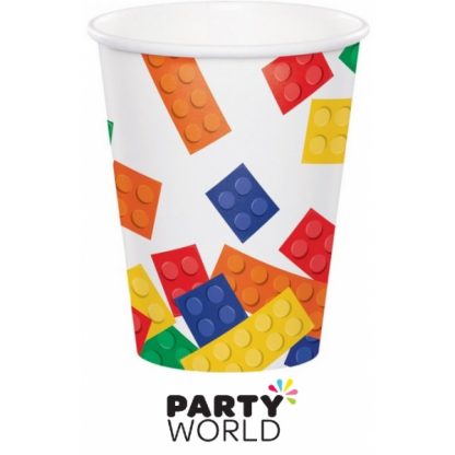 Block Party Paper Cups (8)