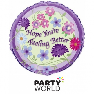 Hope You're Feeling Better Foil 46cm Balloon