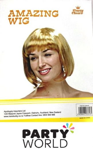 Blonde Short Ladies Wig