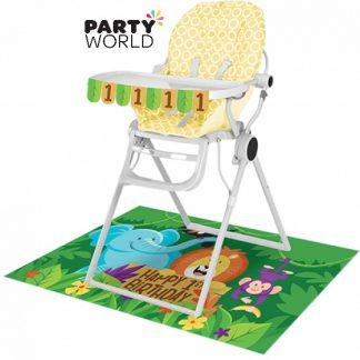 Jungle Safari 1st Birthday High Chair Kit
