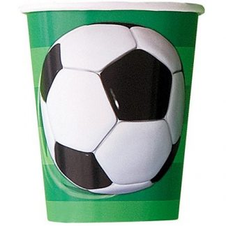 Soccer Party Paper Cups (8)