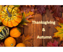 Thanksgiving & Autumn