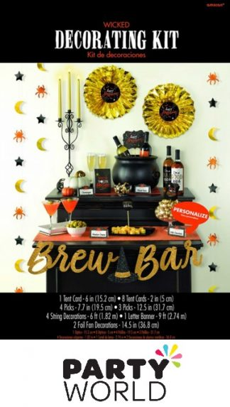 Wicked Brew Bar Happy Halloween Decorating Kit