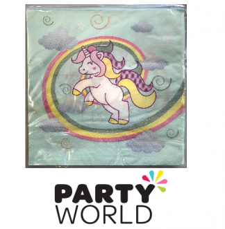 baby unicorn napkins