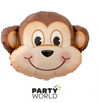monkey foil balloon