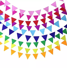 Buntings, Garlands & Flag Banners