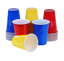 Plastic Cups, Glasses & Shot Glasses
