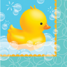Rubber Duckie Bubble Bath Baby Shower