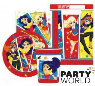 superhero girls party pack