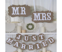Wedding Photo Props, Banners, Buntings & Hanging Decorations