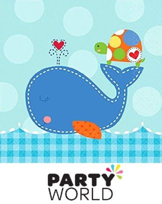 Ahoy Baby Boy Beverage Napkins (16)