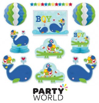 Ahoy Baby Boy Room Decorations Kit