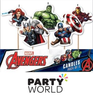 Avengers Party Candles (5)