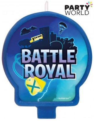 Battle Royal Birthday Party Candle