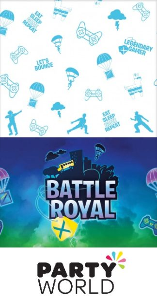 Battle Royal Party Paper Tablecover