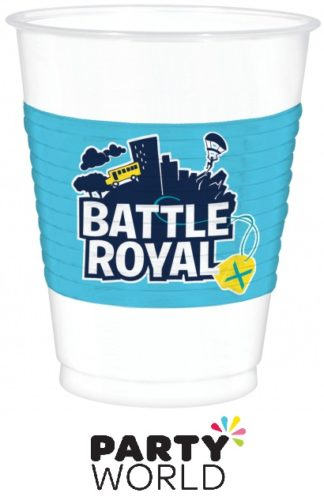 Battle Royal Plastic Cups 473ml (8)