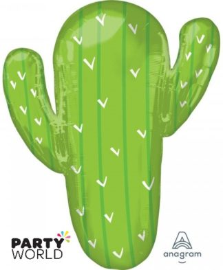 Cactus Supershape Foil Balloon