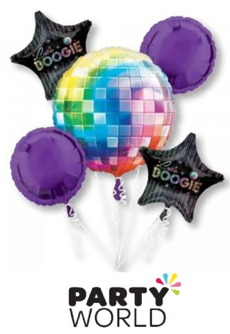Disco Fever 70s Balloon Bouquet
