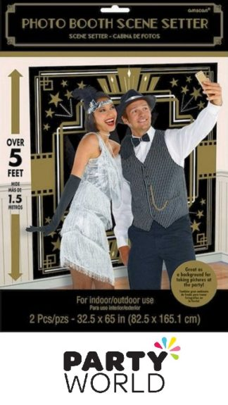 Glitz & Glamour Photo Booth Scene Setter