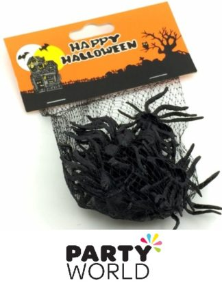Halloween Black Spiders (12)