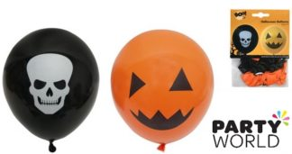 Halloween Latex Balloons Assorted (12)