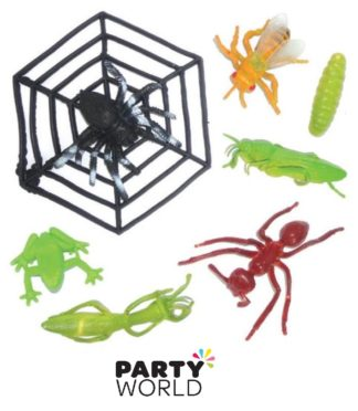 Insect Party Favours - Assorted (7)