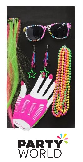 Neon Costume Accessories Set