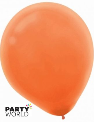 Orange Peel 30cm Latex Balloons (15)