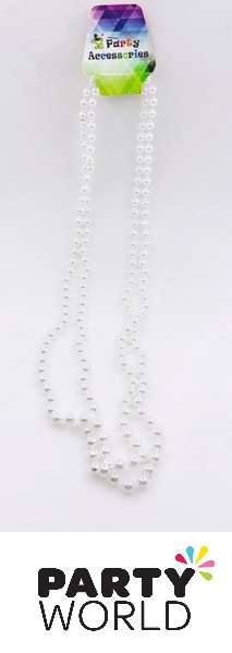Pearl Bead Necklace 8mm Round (3)