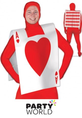 Playing Card Ace Of Hearts Vest
