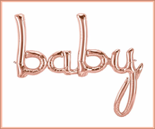 Rose Gold Baby Shower & Oh Baby