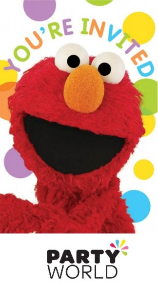 Sesame Street Postcard Invitations (8)