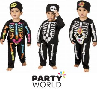 Skeleton Infants Costume