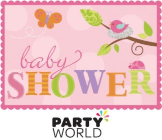 Tweet Baby Girl Baby Shower Invitations (8)
