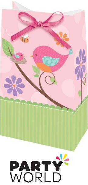 Tweet Baby Girl Paper Favour Bags (12)