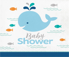 Under The Sea & Whale Blue & Nautical Baby Shower