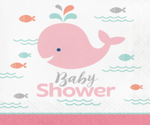Under The Sea & Whale Pink Baby Shower
