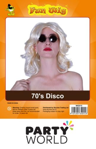 Wig - Ladies 70's Disco Blonde