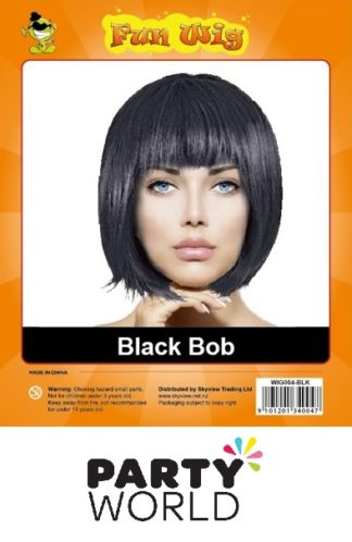 Wig - Ladies Black Bob