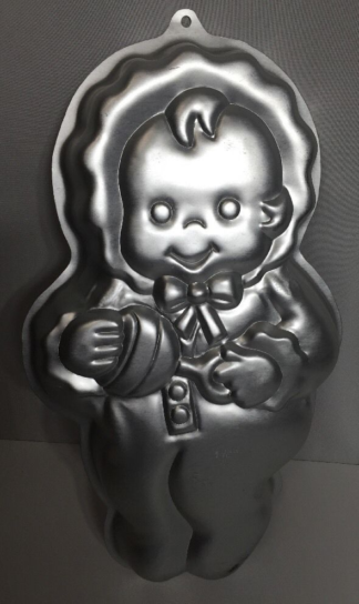 baby shaped cake tin