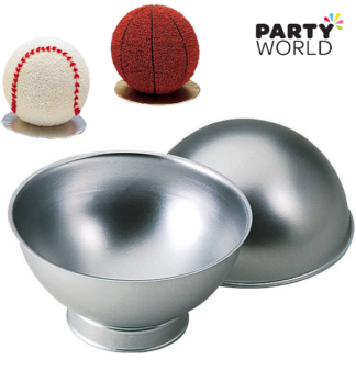 ball shaped cake tin