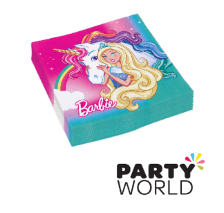 barbie dreamtopia paper napkins