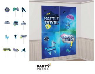 battle royal backdrop & props