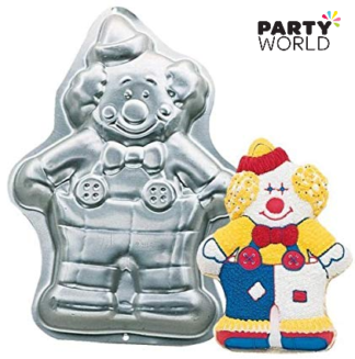 clown cake pan for hire