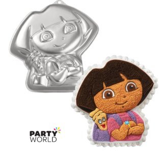 dora the explorer cake tin for hire