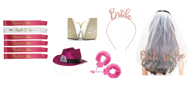hens night wearable accessories