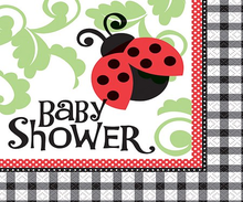 Lady Bug Baby Shower